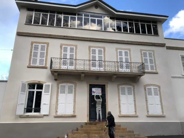 Belle façade en Bourgogne Franche Comté 71 39